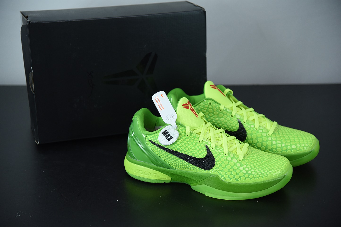 科比Kobe VI Protro 6 科比6代青蜂侠男子低帮实战篮球鞋纯原版本 货号:CW2190-300