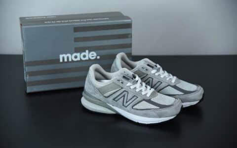 新百伦New Balanc M990V5元祖灰美产血统复古运动跑步鞋纯原版本 货号: M990GL5
