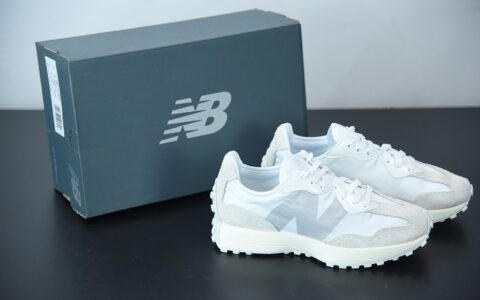 新百伦New Balance MS327系列白灰色复古休闲运动慢跑鞋纯原版本 货号:WS327SFD