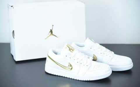 """乔丹Air Jordan 1 Low""""白金"""" 低帮文化篮球鞋纯原版本 货号:CZ4776-100"""