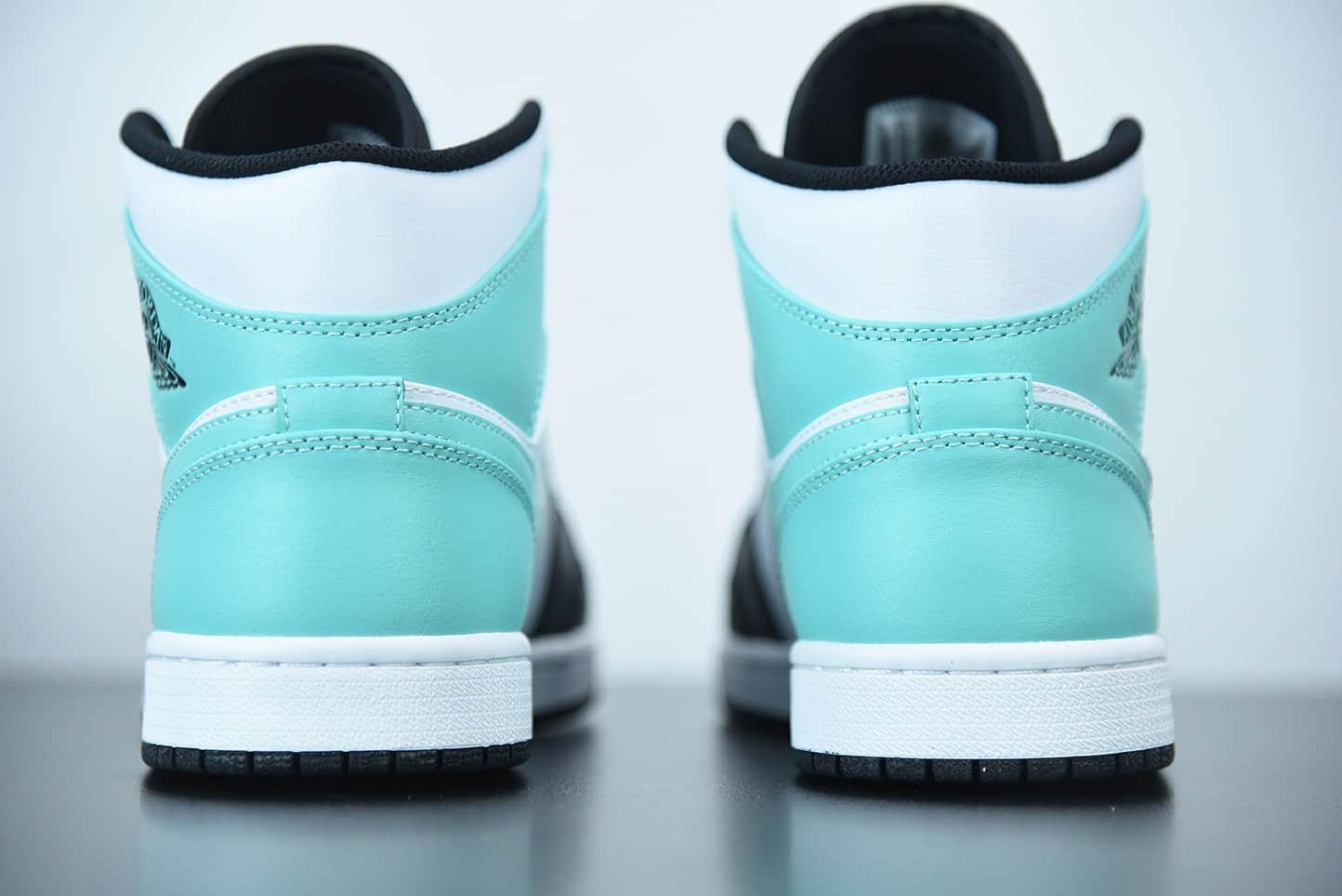 乔丹Air Jordan 1 Mid 蒂芙尼绿中帮篮球鞋纯原版本 货号: 554724-132
