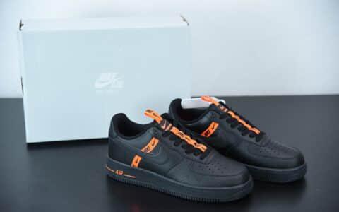 耐克 Nike Air Force 1 Low 黑红串标空军一号低帮百搭休闲运动板鞋纯原版本 货号:CT4683-001