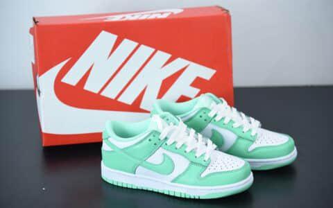 """耐克Nike Dunk Low """"Green Glow"""" 蒂芙尼低帮休闲文化鞋纯原版本 货号:DD1503-105"""