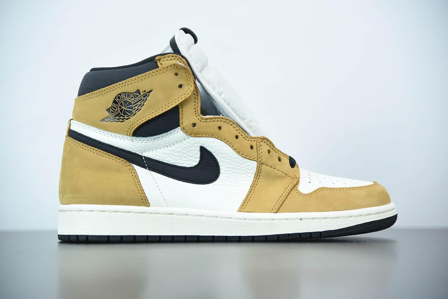 乔丹Air Jordan 1 Retro Bred Toe AJ1代高帮新秀篮球鞋纯原版本货号:555088-700