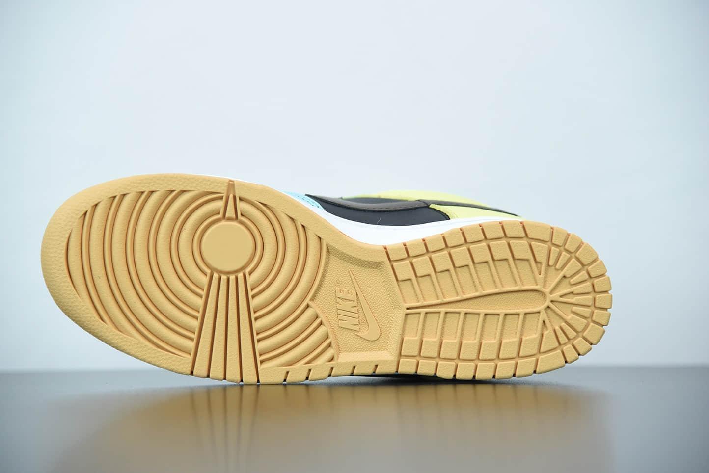 """耐克 Nike SB DUNK Low """"Free 99""""系列白浅巧克力色罗马绿色多彩拼接休闲板鞋纯原版本 货号:DH0952-001"""