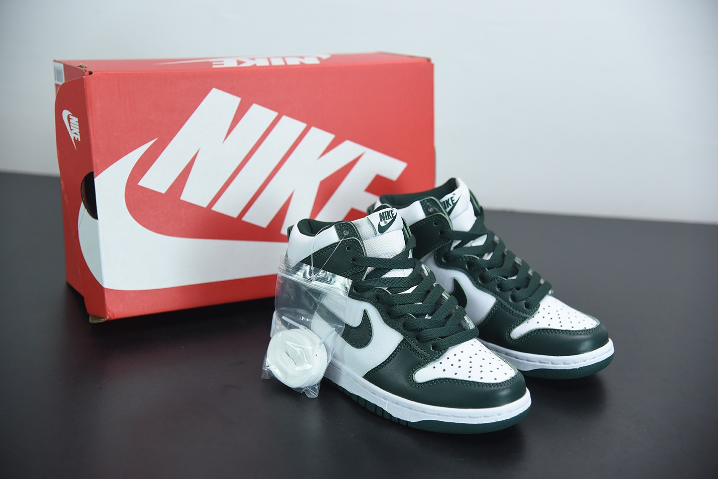 耐克Nike Dunk High SP Pro Green 2020复刻橄榄绿牛油果高帮滑板鞋纯原版本 货号:CZ8149-100
