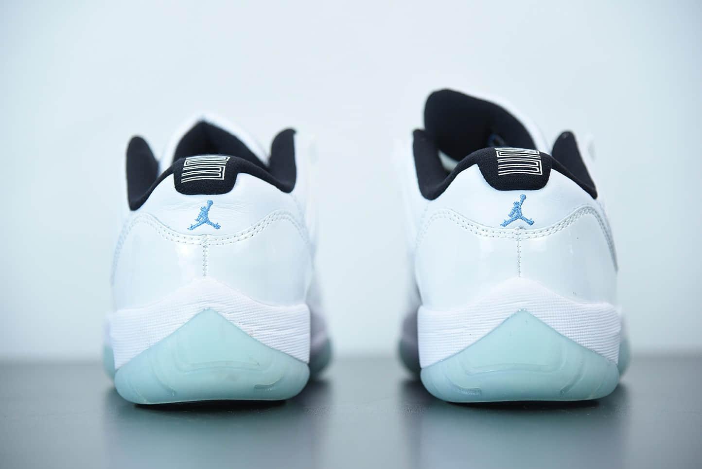 乔丹Air Jordan 11 Retro Low Legend Blue AJ11乔11 传奇蓝低帮男子文化篮球鞋纯原版本货号:AV2187-117