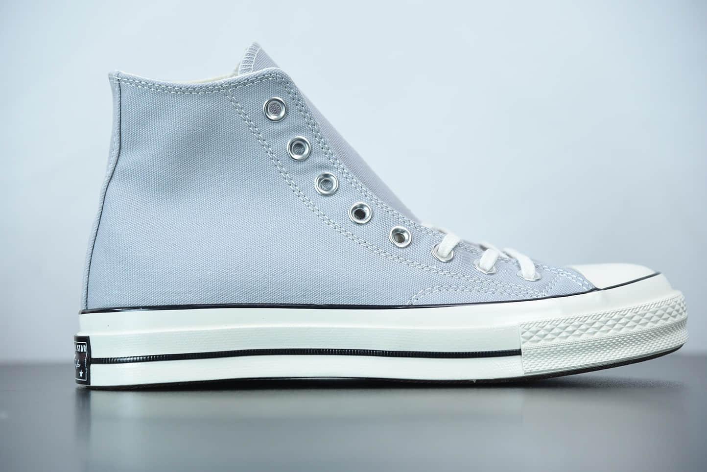 匡威Converse 1970s 高帮浅蓝色硫化帆布鞋纯原版本 货号:170552C