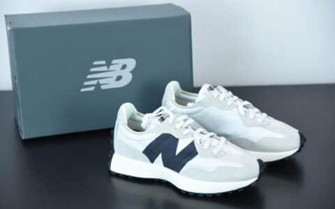 新百伦New balance 海盐配色327系列男女运动休闲跑鞋纯原版本 货号:MS327FE