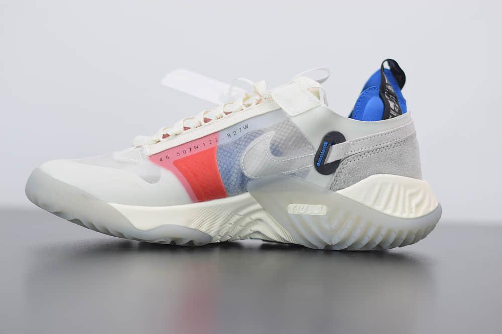 乔丹Jordan Delta SP 白蓝粉代尔塔瑞亚泡棉系列网纱机能运动慢跑鞋纯原版本 货号:CW0783-100