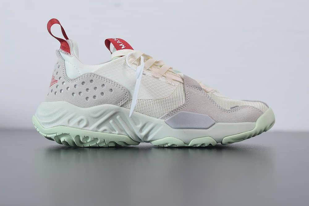 乔丹Air Jordan Delta SP 浅灰绿陈冠希主刀亲自设计复古休闲运动鞋纯原版本 货号:CD6109-100