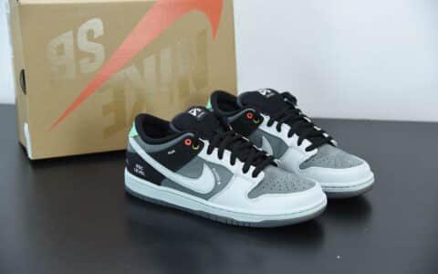 耐克Nike Dunk SB VX1000 摄相机联名黑灰板鞋纯原版本 货号:CV1659-001