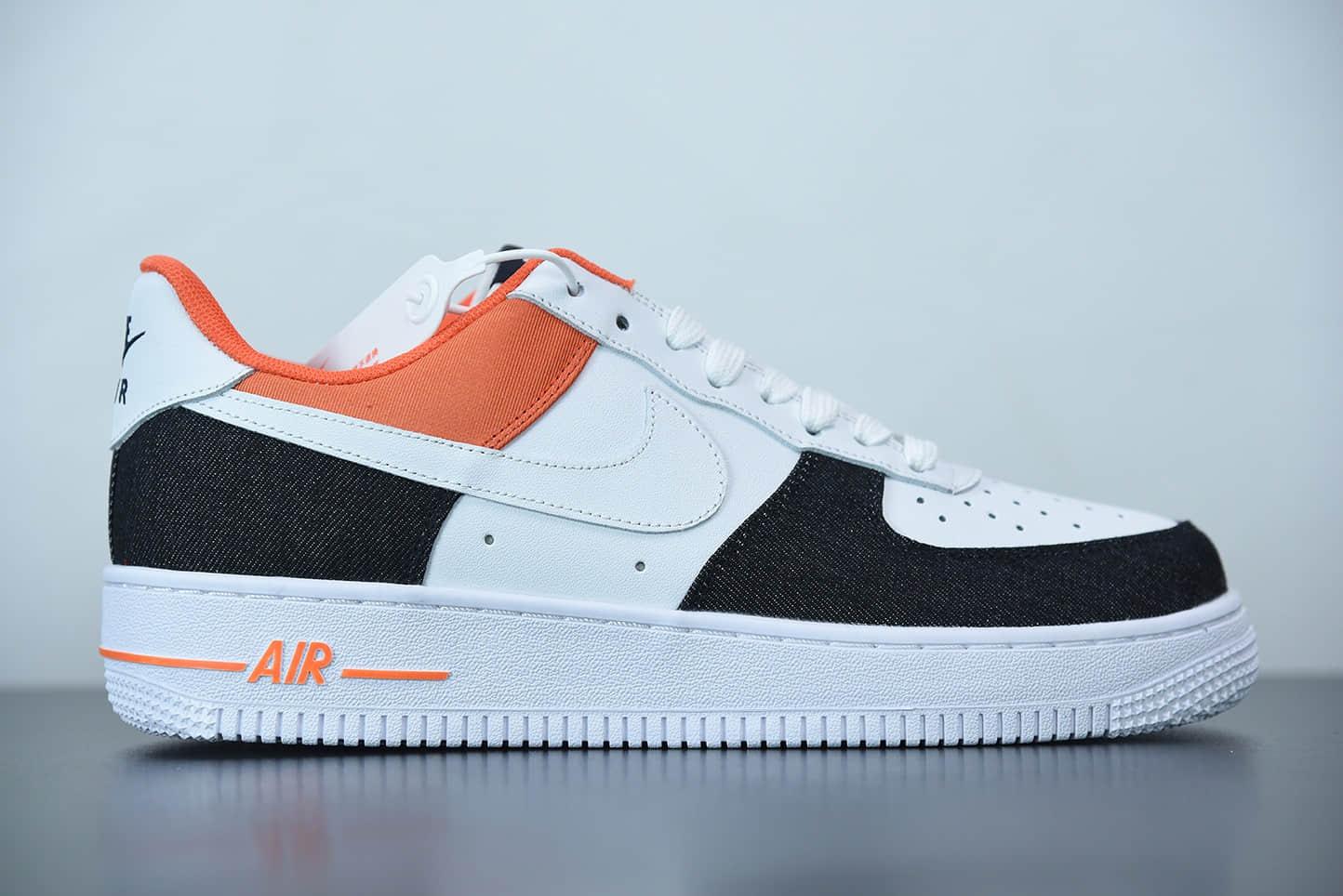 耐克 Nike Air Force 1 Low USA Denim 白蓝红美国队丹宁运动休闲复古板鞋纯原版本 货号:DJ5174-100