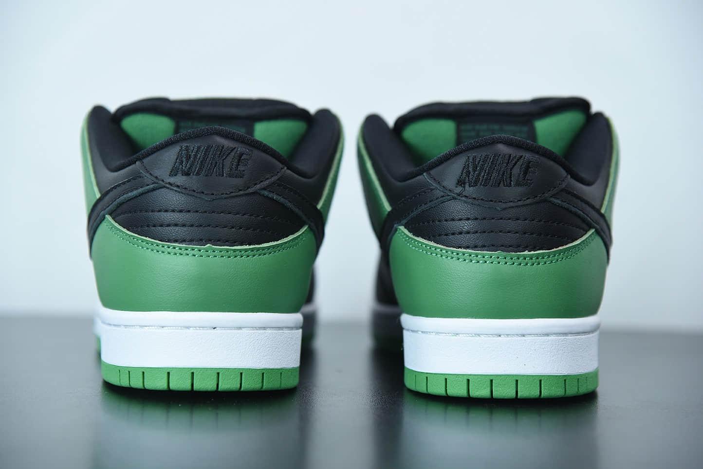 耐克Nike SB Dunk Low Classic Green黑白绿脚趾扣篮系列低帮休闲运动滑板板鞋纯原版本 货号:BQ6817-302