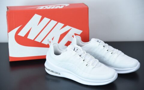 耐克 Nike Air Max AXIS 小98纯白简约复古经典球鞋纯原版本 货号:AA2168-100