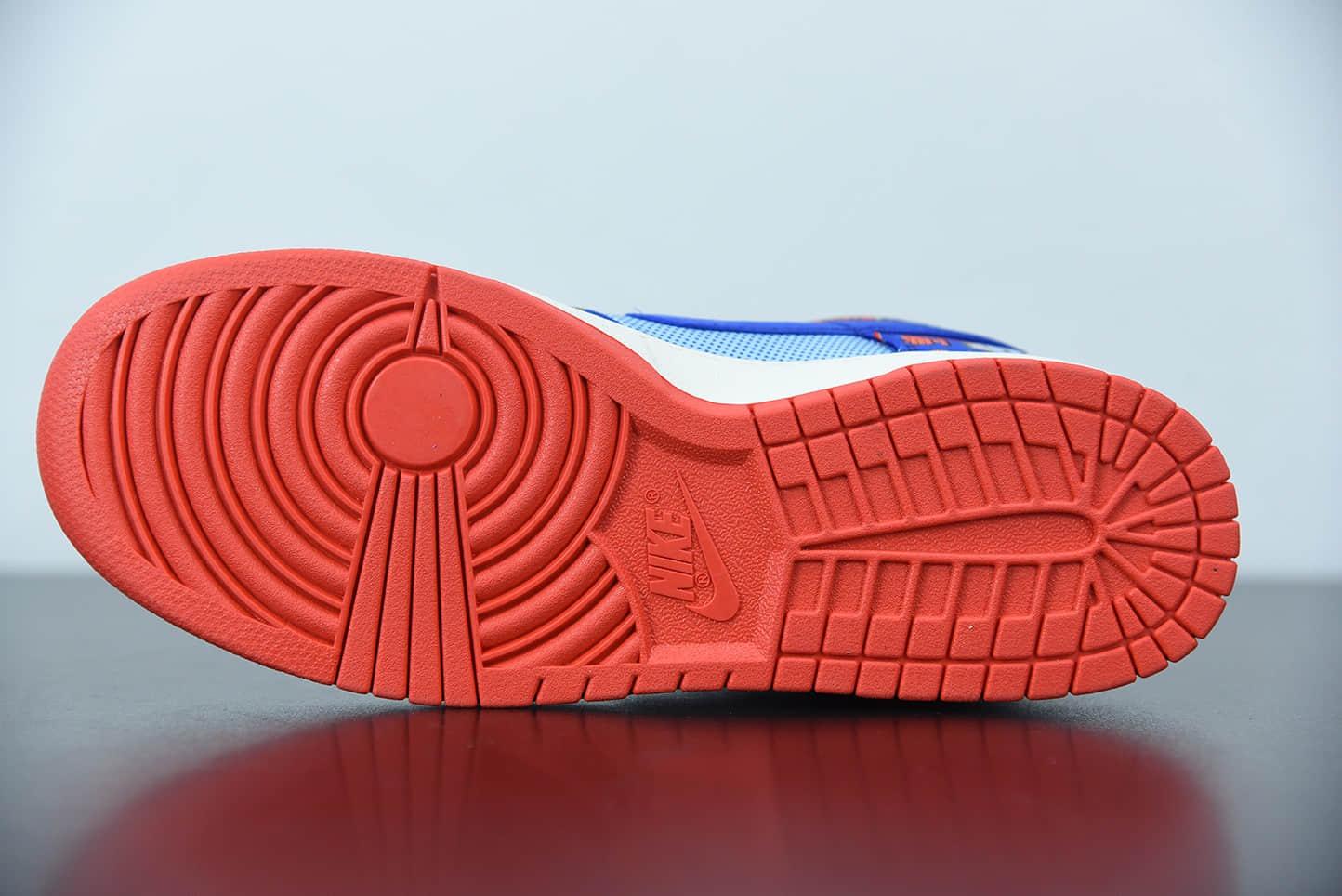 耐克Nike Dunk Low 「Firecracker」全新双层刮刮乐蓝红鞭炮低帮休闲板鞋纯原版本 货号:DH4966-446
