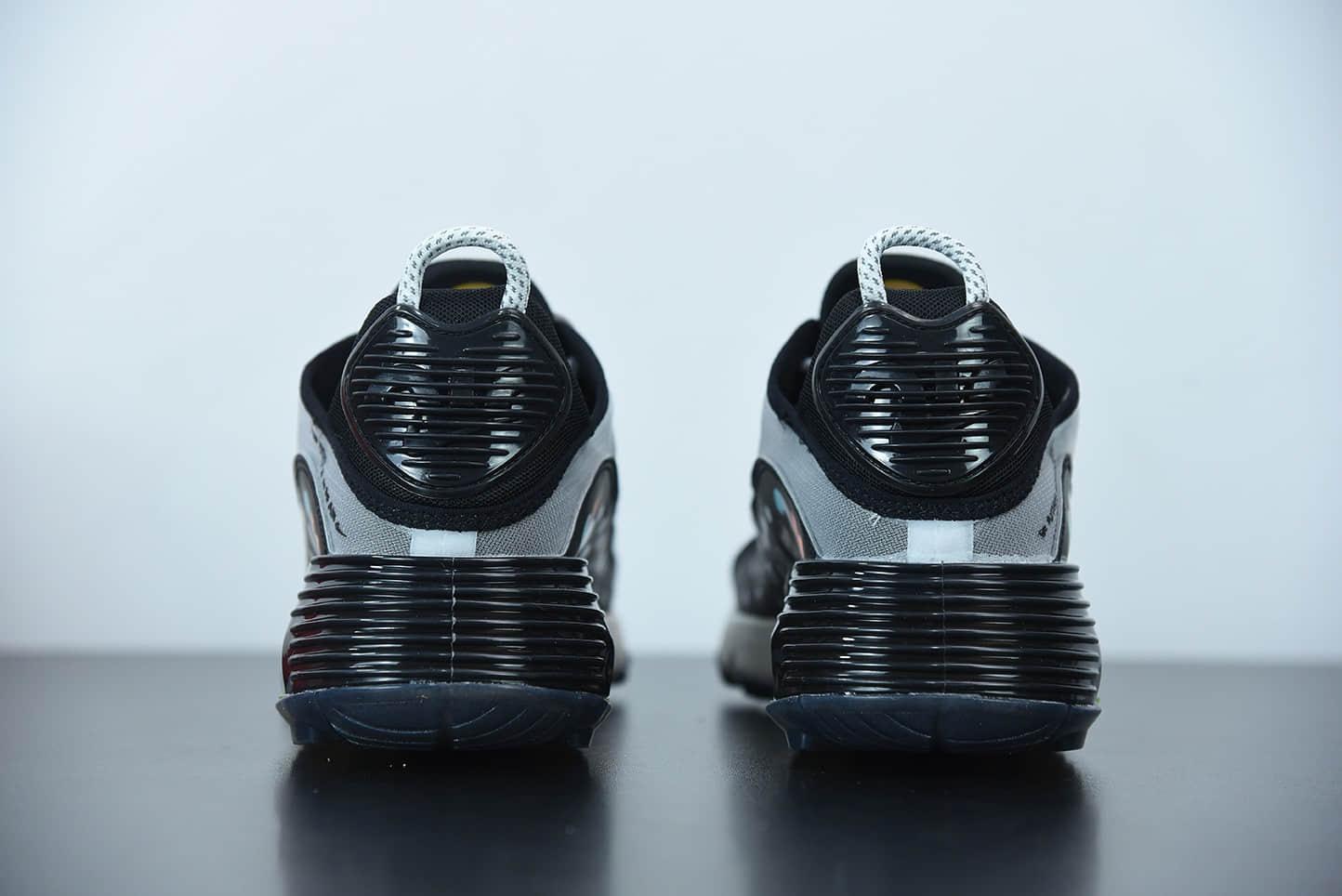 耐克Nike Air Max 2090灰红半掌气垫跑步鞋纯原版本 货号:DD8497-160