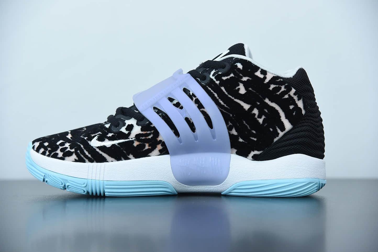 耐克Nike Zoom KD14 杜兰特14代黑迷彩缓震实战篮球鞋纯原版本 货号:CZ0170-001