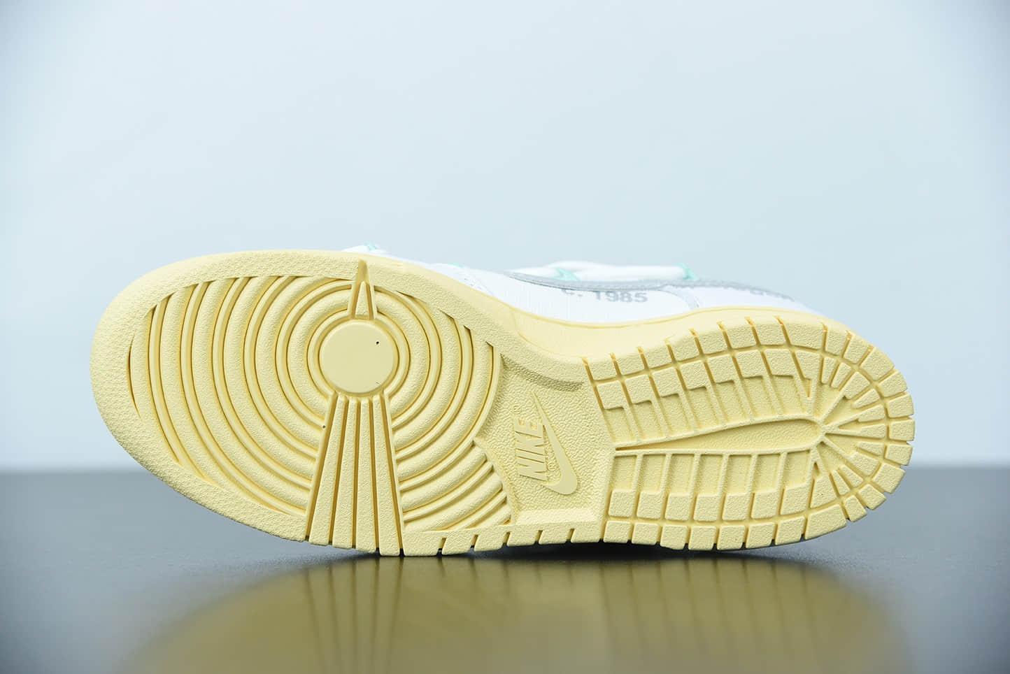 耐克 Off White x Futura x Nike Dunk Low Black Orange 三方联名黑橙解构板鞋纯原版本货号:DM1602-127
