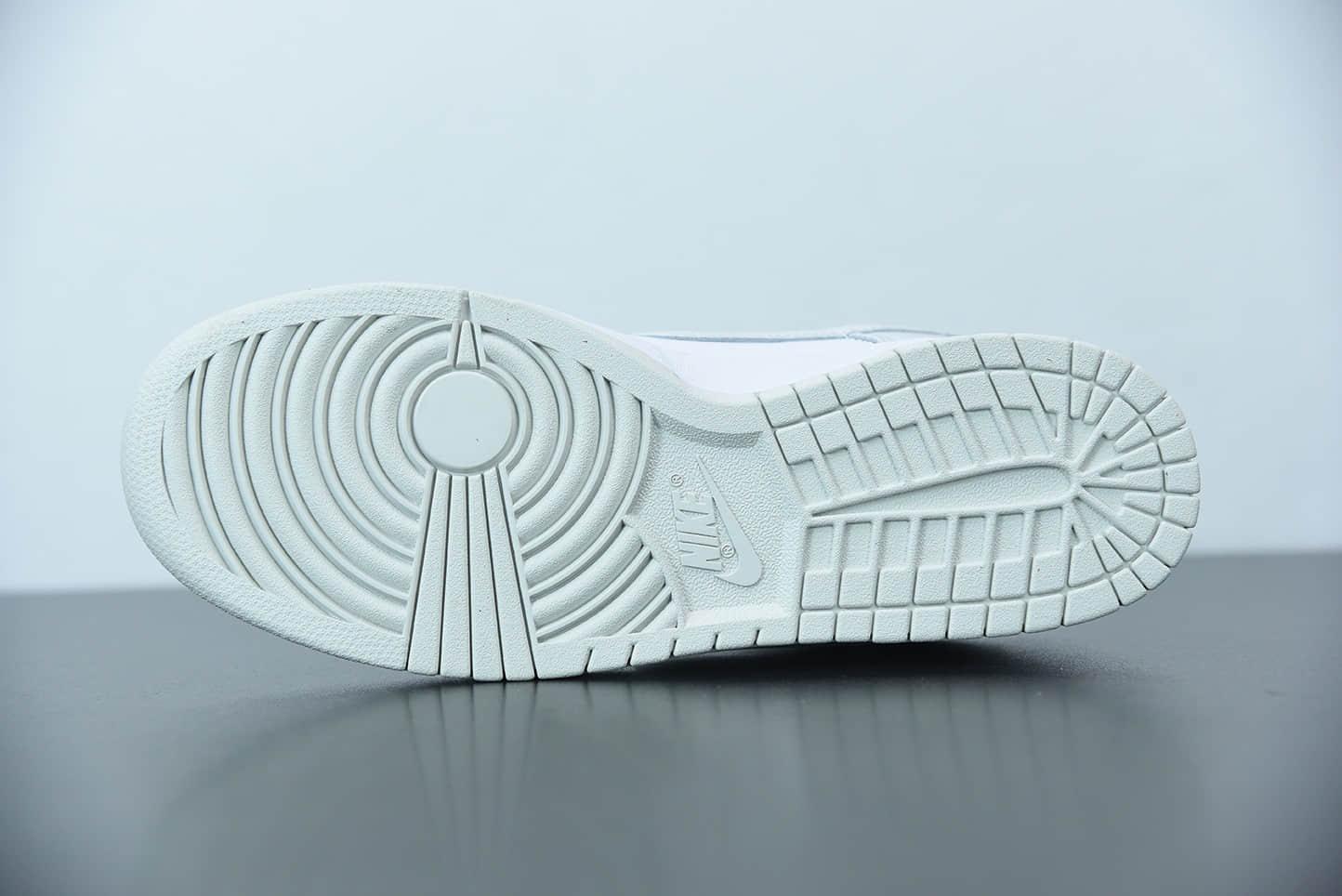 耐克Nike WMNS SB Dunk LowPhoton Dust白灰烟灰雾霾配色扣篮系列低帮休闲运动滑板鞋纯原版本 货号:DD1503-103