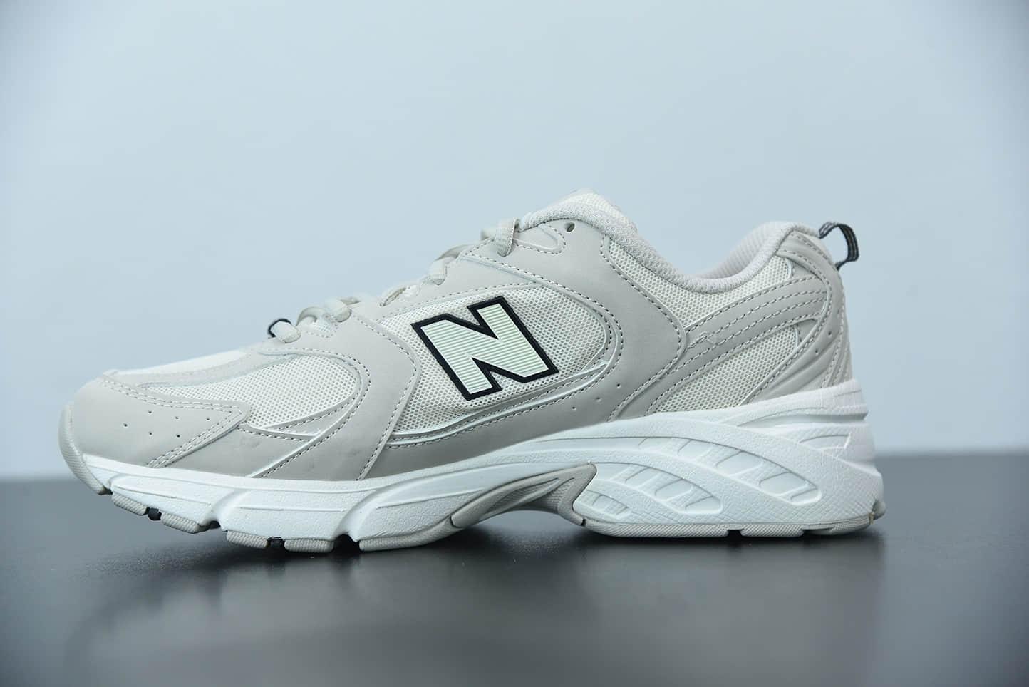 新百伦New Balance 530系列卡其色运动休闲鞋纯原版本 货号:MR530SH