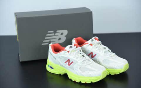 新百伦New Balance 530系列白橘荧光地复古休闲慢跑鞋纯原版本 货号:MR530SI