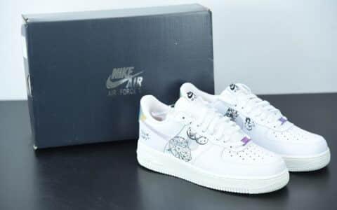 耐克Nike Air Force 1 Low '07 涂鸦空军一号低帮百搭休闲运动板鞋纯原版本 货号:DM5447-111