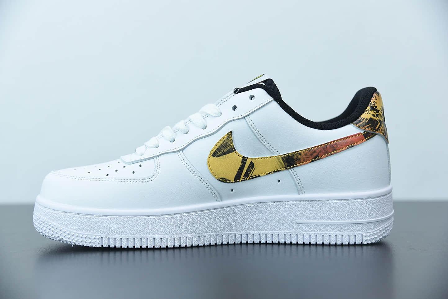 耐克Nike Air Force 1 Low 空军一号扑克牌鬼脸彩绘休闲运动板鞋纯原版本 货号:DM7578-100