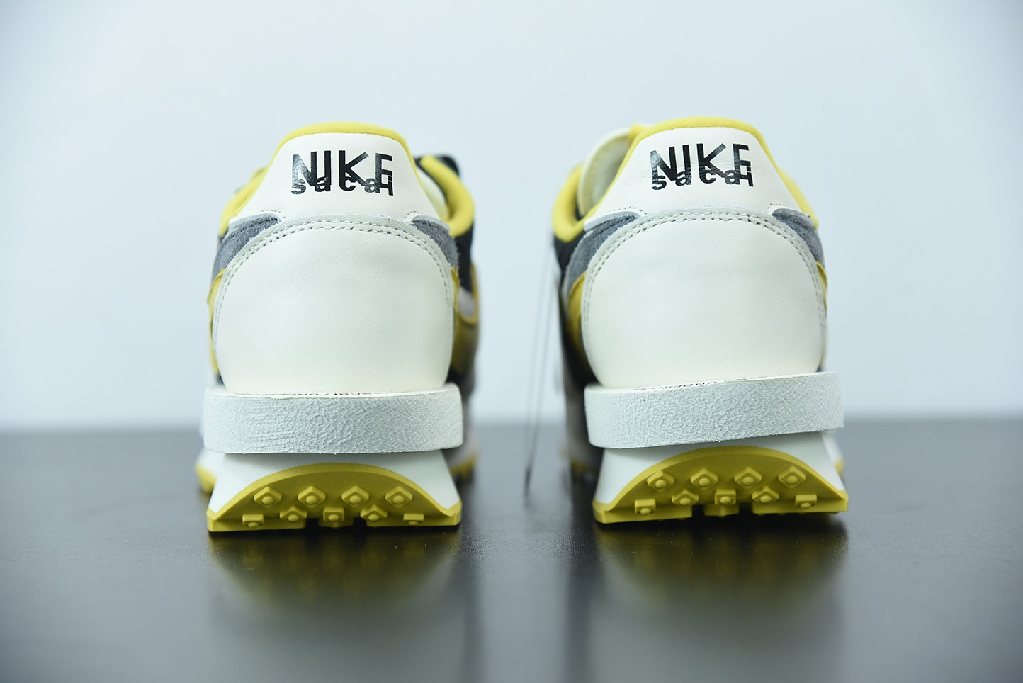 耐克Nike SACAI X UNDERCOVER X LDWAFFLE三方联名白黑黄复古休闲鞋纯原版本 货号:DJ4877-001