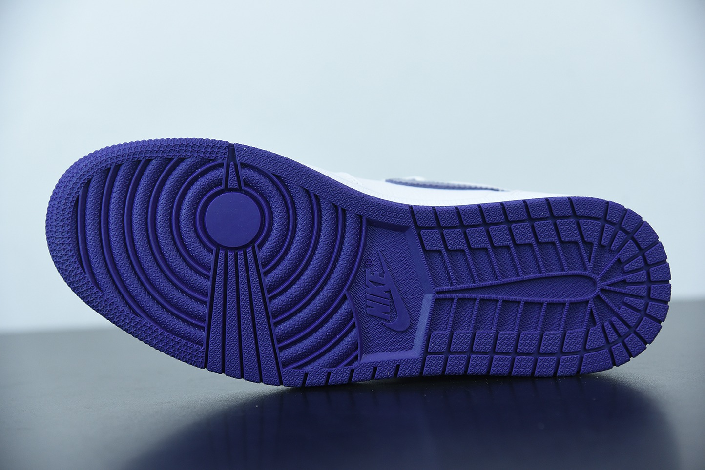 """乔丹Air Jordan 1 Retro High """"Court Purple"""" 高帮元年白紫篮球鞋纯原版本 货号:CD0461-151"""