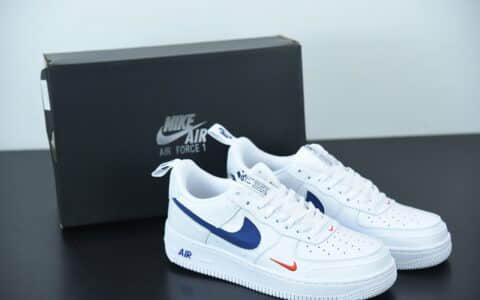 耐克Nike Air Force 1 Low 白蓝缝线空军一号低帮百搭休闲运动板鞋纯原版本 货号:CK7213-104