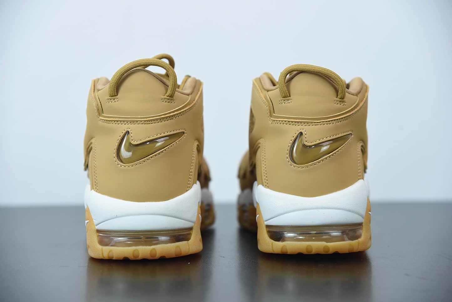 """耐克 Nike Air More Uptempo OG""""大AIR""""小麦配色皮蓬一代复古百搭文化休闲篮球鞋纯原版本 货号:AA4060-200"""
