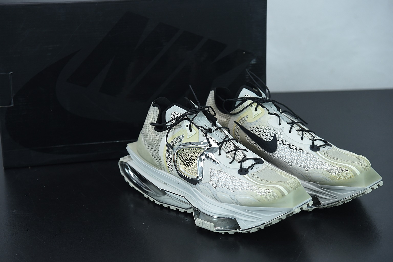 """耐克 Nike Matthew M. WilliamsMMW x Nike Zoom Stone004代""""米白黑""""机能坦克履带老爹鞋纯原版本 货号:CU0676-200"""