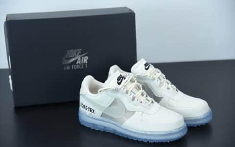 耐克Nike Air Force 1 WTR Gore-Tex空军机能防水白蓝色低帮运动休闲板鞋纯原版本 货号:CQ7211-002