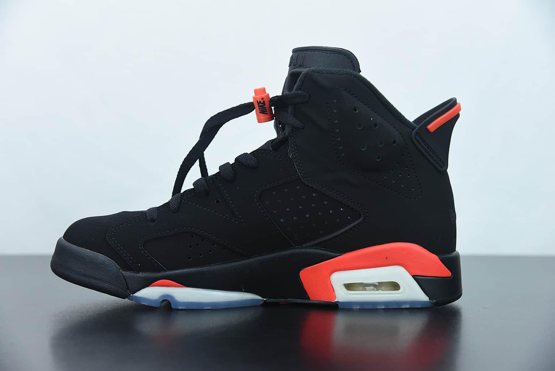 乔丹Air Jordan 6 Black Infrared黑红全明星红外线乔丹6代篮球鞋纯原版本 货号:384664-060