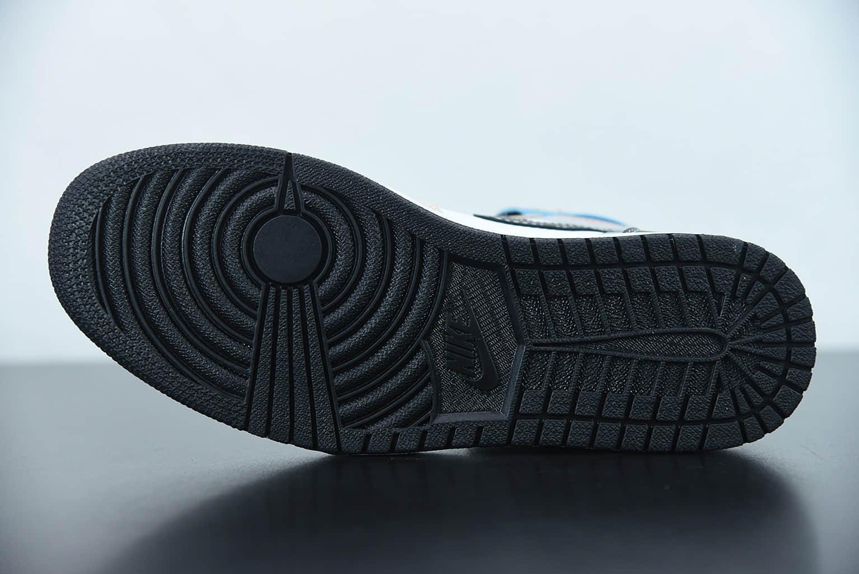 """乔丹Air Jordan 1 Retro AJ1 High OG """" Total Orange"""" 3M蓝白拼接高帮板鞋纯原版本 货号:DC6515-100"""