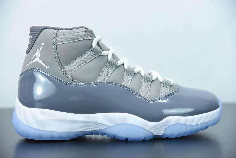 """乔丹Air Jordan 11 Retro """"CoolGry"""" 高帮酷灰篮球鞋纯原版本 货号:CT8012-005"""