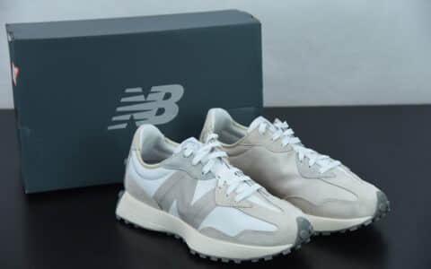 新百伦Noritake x New balance 新百伦联名款白灰中性运动休闲跑步鞋纯原版本 货号: MS327NW1