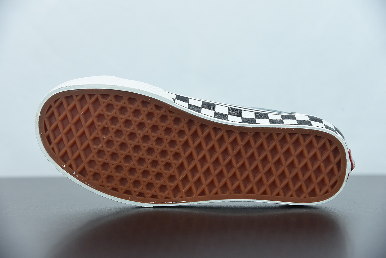 万斯Vans Style 36 Decon SF酷灰灰棋盘格半月包头杀人鲸低帮硫化板鞋纯原版本 货号:VN0A3MVL195