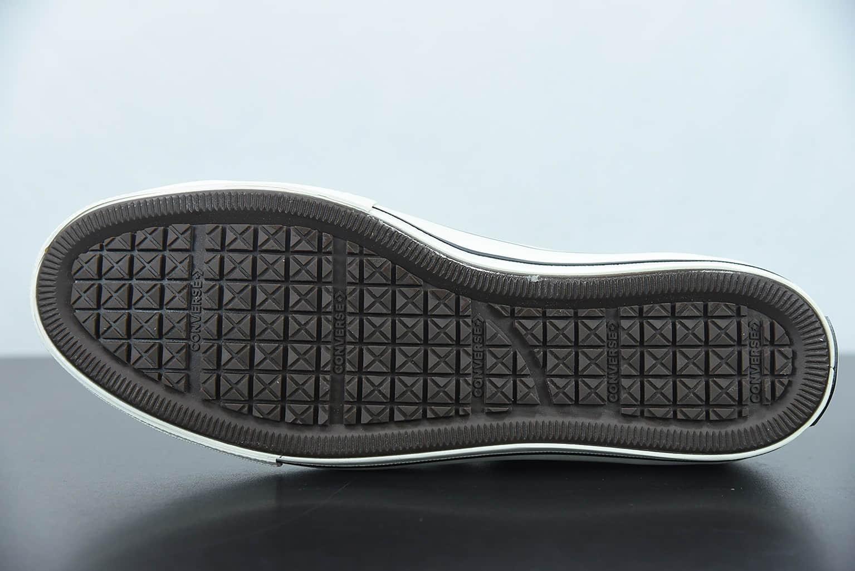 匡威Kim Jones x Converse Chuck Taylor All Star 1970s 重磅联名黑色高帮帆布鞋纯原版本 货号:171257c