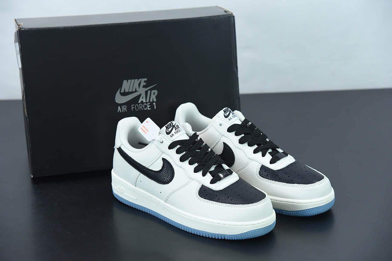 """耐克 Nike Air Force 1'07 Low 空军一号""""黑鸽子联名""""低帮休闲板鞋纯原版本 货号:CU6603-113"""