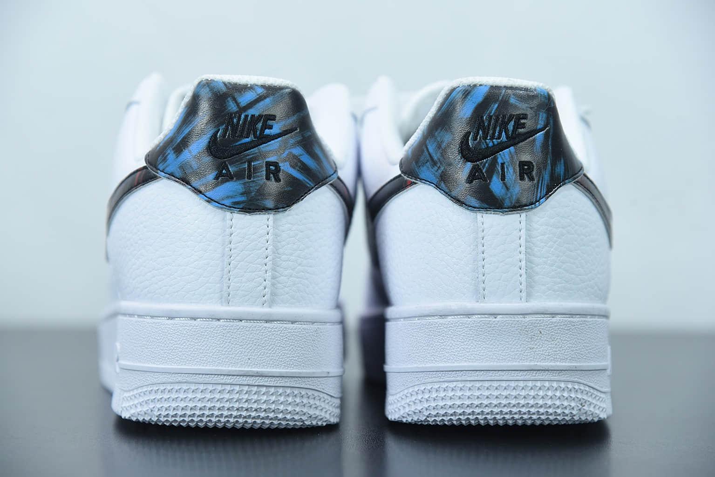耐克 Nike Air Force 1 LowTie-Dye白蓝红扎染空军一号低帮运动休闲板鞋纯原版本 货号:DJ6889-100