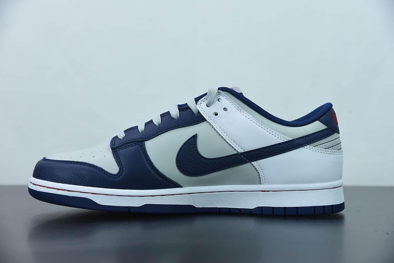 耐克NBA x Nike Dunk Low EMB NBA 75周年蓝网联名低帮休闲板鞋纯原版本 货号:DD3363-001