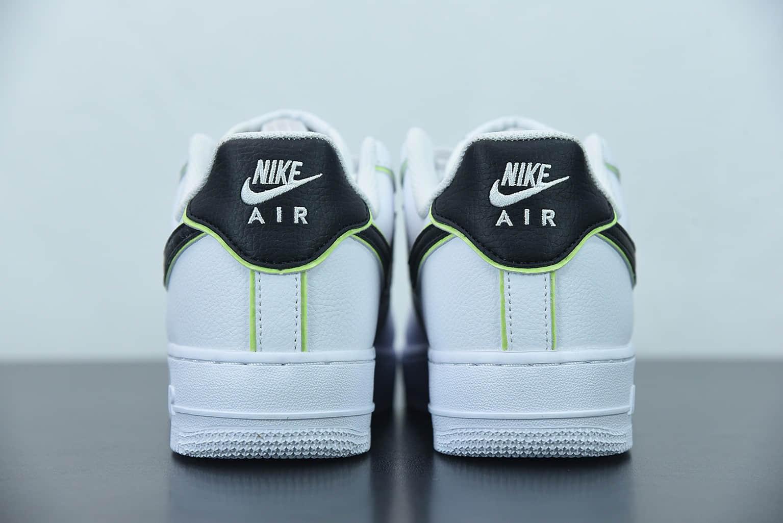 """耐克 Nike Air Force 1 Low '07 """"黑白夜光""""低帮空军一号休闲板鞋纯原版本 货号:CW2288-304"""
