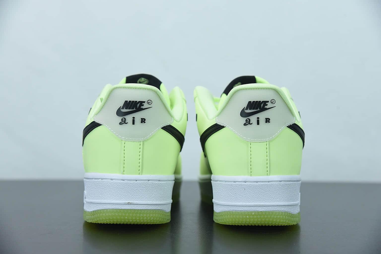 """耐克 Nike Air Force 1 Low """"Have A Nike Day""""笑脸夜光空军一号低帮休闲板鞋纯原版本 货号:CT3228-701"""