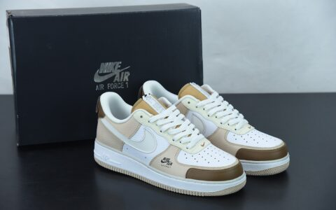 耐克 Nike Air Force 1 Premium 咖啡豆配色 空军一号低帮休闲板鞋纯原版本 货号:CV3039-101