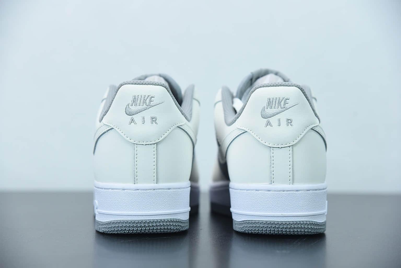 """耐克Nike Air Force 1 Low '07 """"米灰拼接""""低帮空军一号休闲板鞋纯原版本 货号:BV6088-301"""