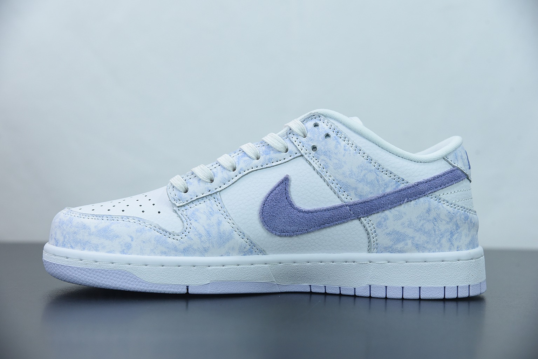 耐克 Nike Dunk Low'Purple Pulse'淡蓝紫水洗扣篮系列低帮休闲运动滑板板鞋纯原版本 货号:DM9467-500