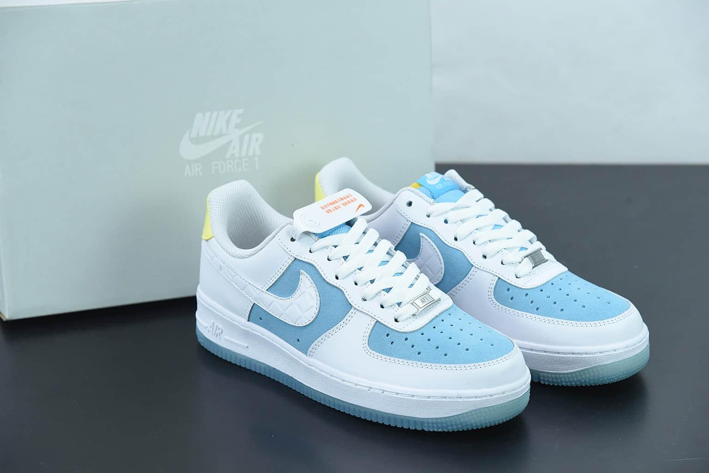 耐克 Nike Air Force 1 Low '07 空军一号钻石联名低帮休闲板鞋纯原版本 货号:AA7687-400